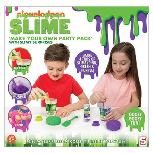 Nickelodeon Slime Make Your Own Slime Party Pack