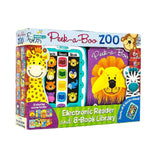 Books Peek-a-Book Zoo Me Reader Jr Electronic Reader and 8 Book Library - Buy Online