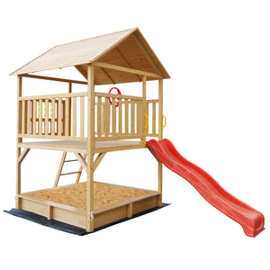Stanford Cubby House Set with Red Slide