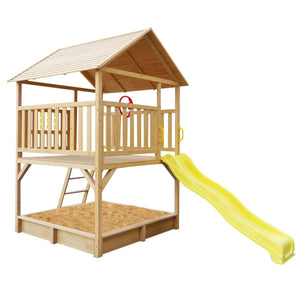Stanford Cubby House Set with Yellow Slide