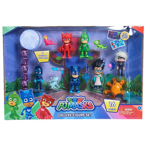 PJ Masks Deluxe Figure Collection - 16 Figures