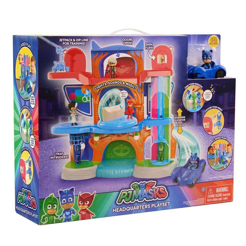 Buy Pj Masks Headquarters Playset Online At Toy Universe