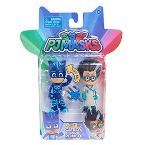 PJ Masks Light Up Figure 2 Pack - Catboy and Romeo