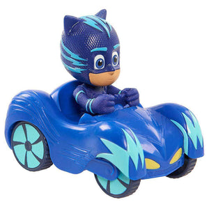 PJ Masks Mini Wheelie Vehicle Cat-Car - Catboy