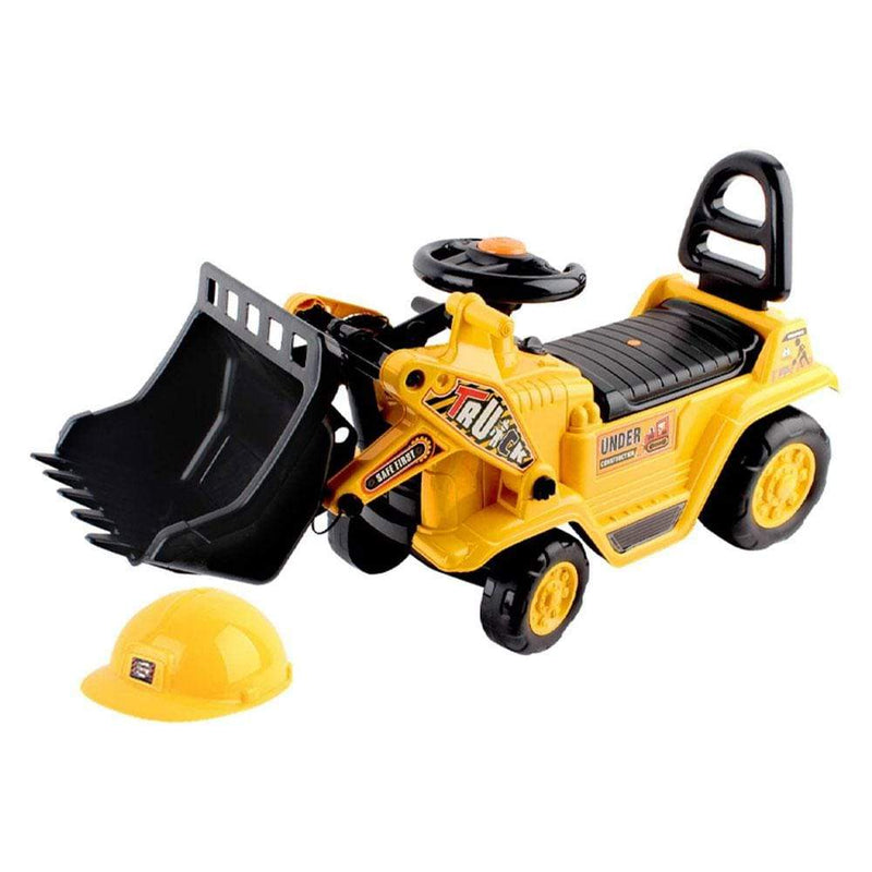 Fun Stuff Kids Ride On Bulldozer with Hard Hat - Buy Online