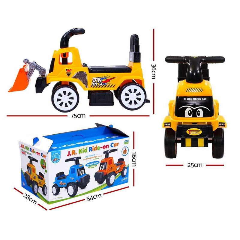 Fun Stuff Kids Ride On Bulldozer Truck with Digger Arm - Buy Online