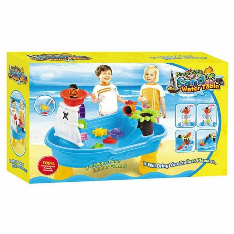 Fun Stuff Keezi Kids Sand and Water Pirate Ship Sandpit Table - Buy Online