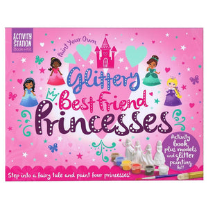Paint Your Own Glittery Best Friend Princess