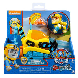 Paw Patrol - Rubble's Transforming Sea Patrol Vehicle with Sea Friend