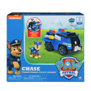 Paw Patrol Chase' s Cruiser Vehicle and Figure