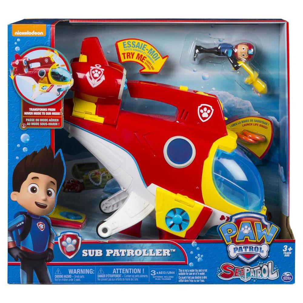 Buy Paw Patrol Sea Patrol Sub Patroller Ryder Online At Toy Universe