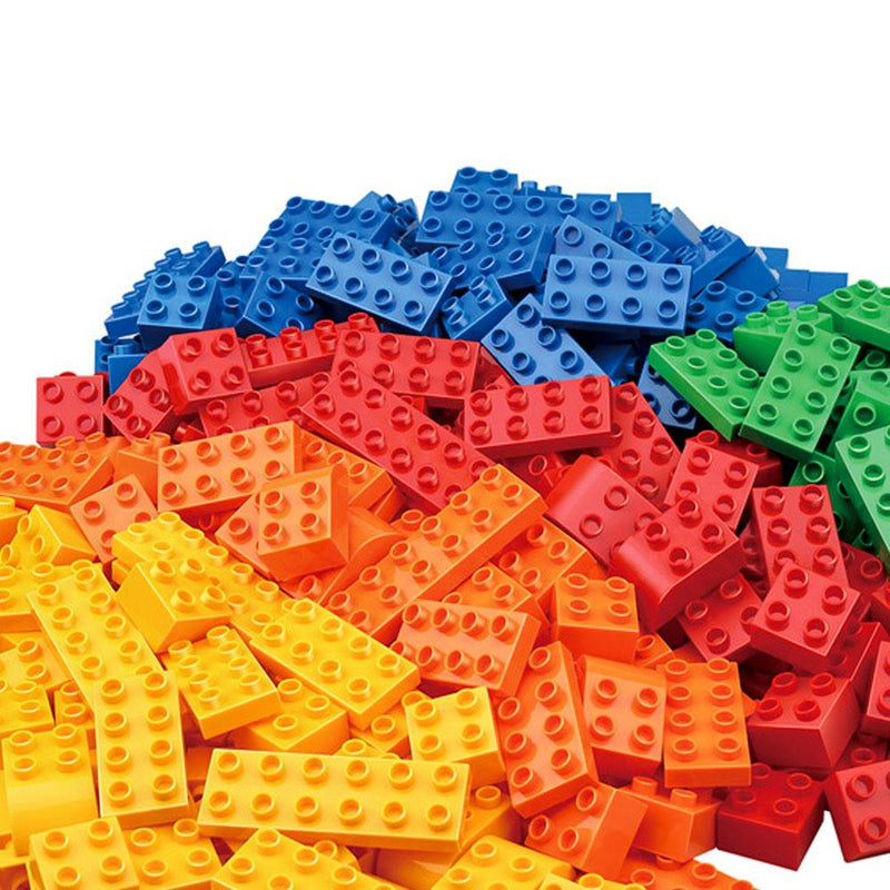 Toy Universe Brands Plastic Building Blocks Bricks 100-Piece Box - Buy Online