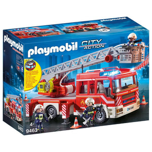Playmobil City Action Fire Brigade Fire Engine with Ladder 9463