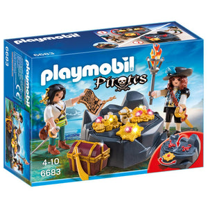 Playmobil Pirate Treasure Hideout - 6683