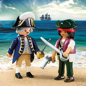 Playmobil Pirate and Soldier Duo 6846