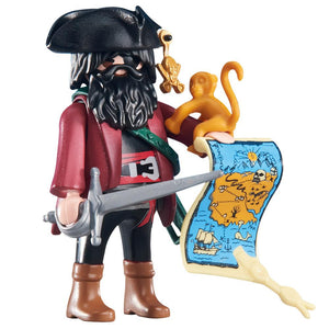 Playmobil Pirates Captain Figure with Map