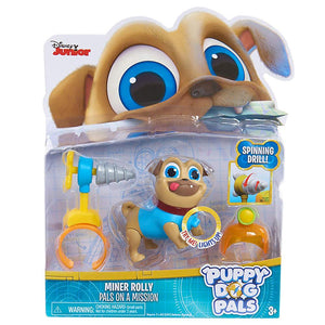 Puppy Dog Pals Light Up Rolly with Drill & Helmet