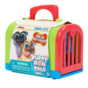 Puppy Dog Pals Travel Pets in Green Carrier