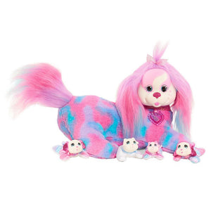 Puppy Surprise Plush Eliza and her Puppies