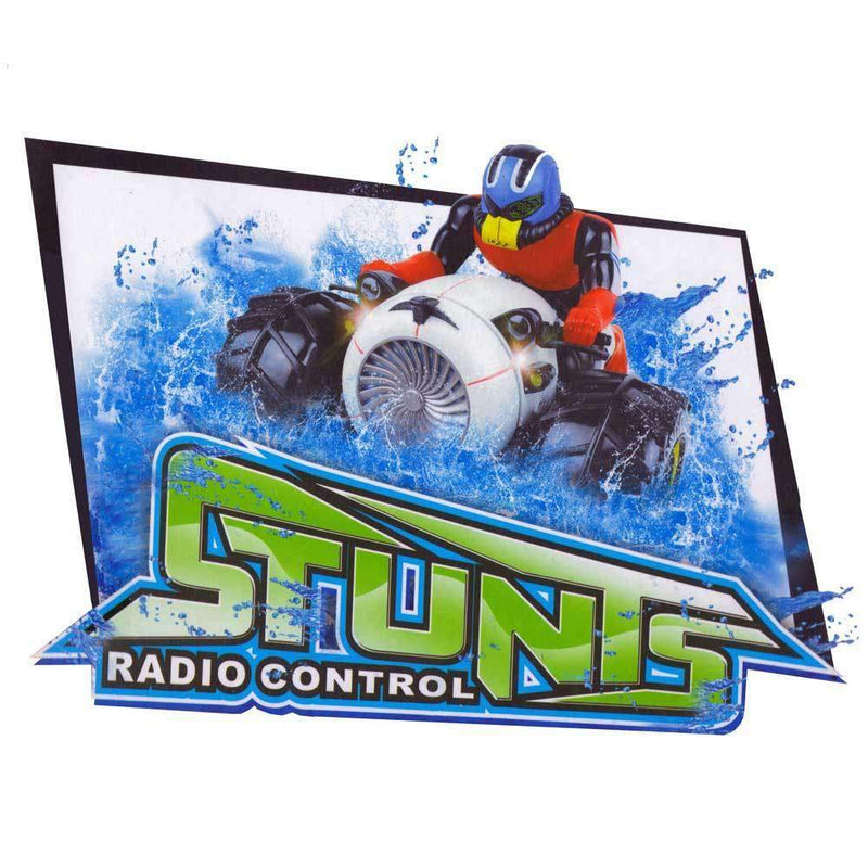 Buy Rc Stunt 3 Wheel Bike Land And Water Online At Toy Universe