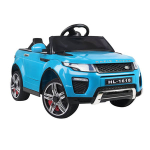 Range Rover Evoque Inspired Kids Electric  Ride On Car in  Blue
