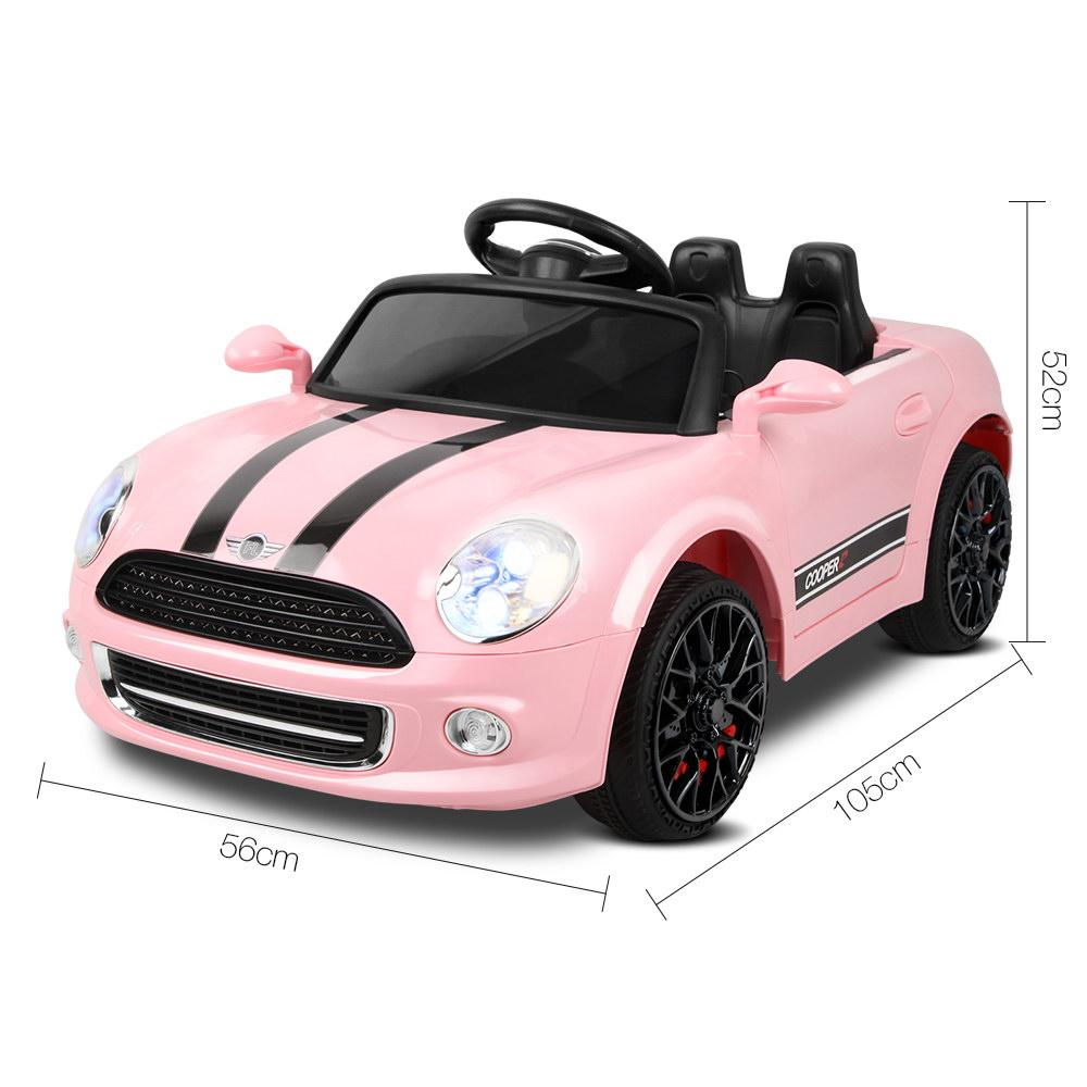 Buy Mini Cooper Electric Ride On Car In Pink Online At Toy Universe