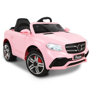 Mercedes Benz GLE Inspired Kids Electric Ride On Car in Pink