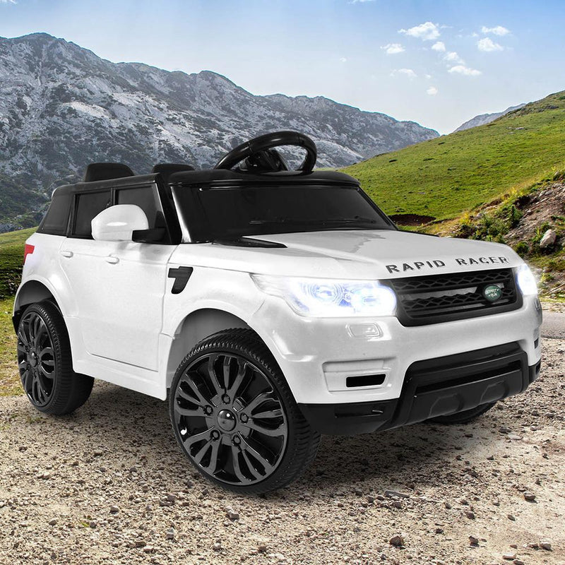 Buy Range Rover Inspired Kids Electric Car Online At Toy Universe