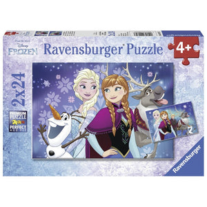 Ravensburger Disney Northern Lights - 2 x 24 Piece Puzzle
