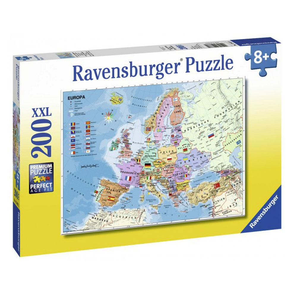 buy ravensburger european map 200 piece puzzle online at toy universe. Black Bedroom Furniture Sets. Home Design Ideas