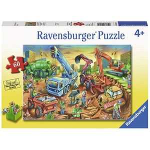 Ravensburger Jigsaw Puzzle Construction Crew - 60 Piece
