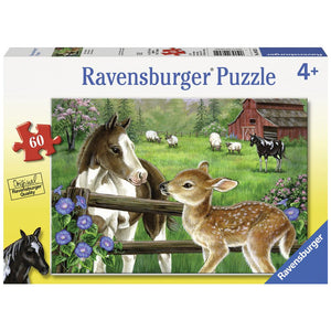 Ravensburger Jigsaw Puzzle New Neighbours - 60 Piece