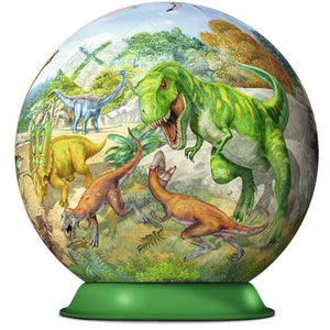 Ravensburger Kingdom of the Dinosaurs Puzzleball - 72 Piece
