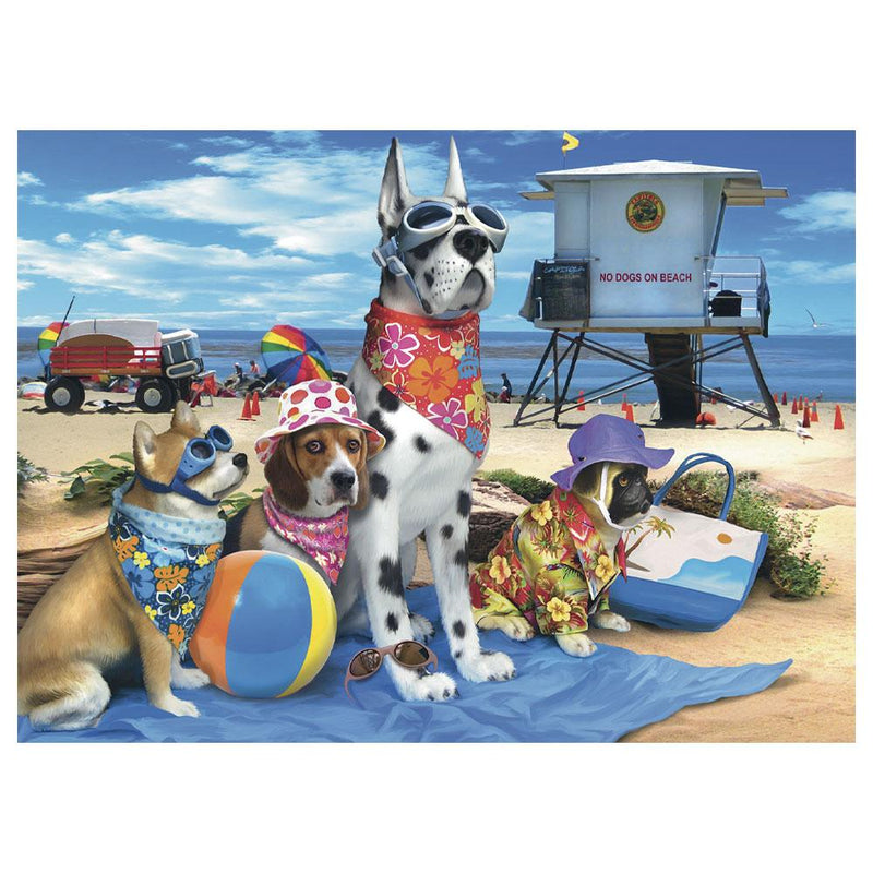 Ravensburger Ravensburger No Dogs on the Beach 100-Piece Puzzle - Buy Online