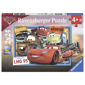 Ravensburger Disney Two Cars - 2 x 24 Piece Puzzle