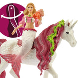 Schleich Schleich Bayala Mermaid Feya on Underwater Unicorn - Buy Online