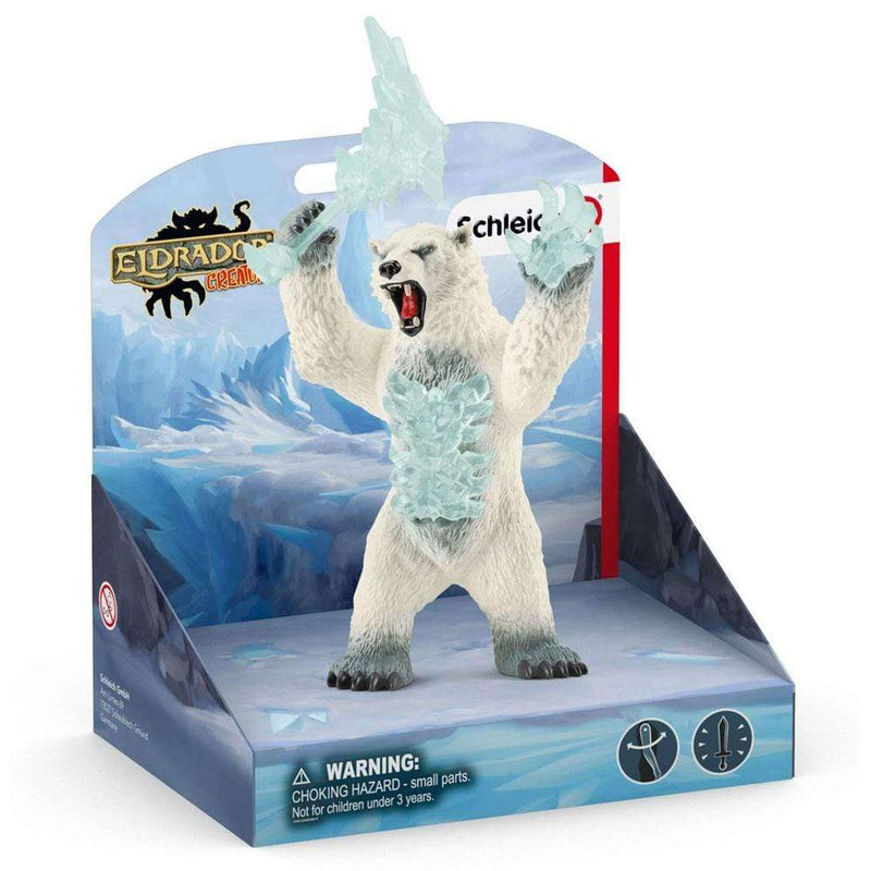Schleich Schleich Eldrador Blizzard Bear with Weapon Toy Figures - Buy Online
