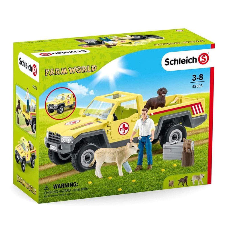 Schleich Schleich Farm World Veterinarian Visit at Farm Set - Buy Online