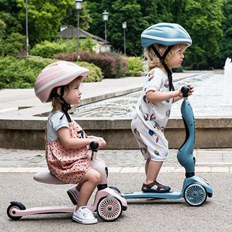 Scoot & Ride Scoot and Ride Highwaykick 1 Ride On and Scooter - Rose - Buy Online