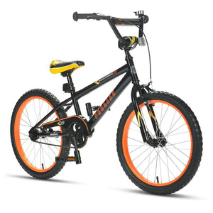 Shockwave Click N Go 20 inch Boys Black & Orange Bike
