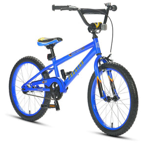 Shockwave Click N Go 20 inch Boys Blue Bike