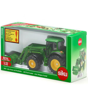 Siku Farmer Series Boxed 1:32 John Deere Tractor with Front Loader