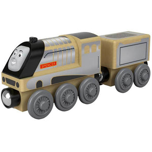 Thomas & Friends Wood Toy Train Engine - Spencer