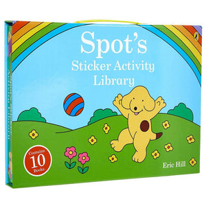 Spot Sticker Activity 10 Book Carrycase by Eric Hill