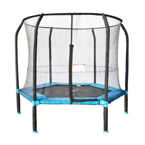 7ft Springless Hoppy Trampoline Set