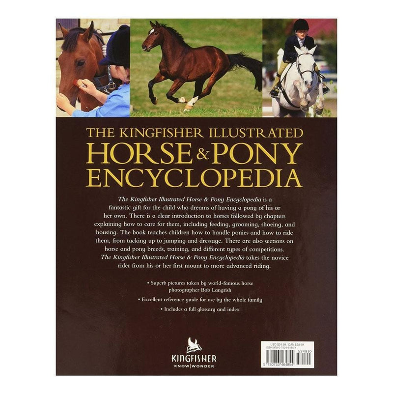 Books The Kingfisher Illustrated Horse and Pony Encyclopedia - Buy Online