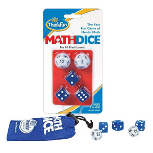 ThinkFun Math Dice Game