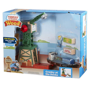 Thomas & Friends Wood Cranky at the Docks Set