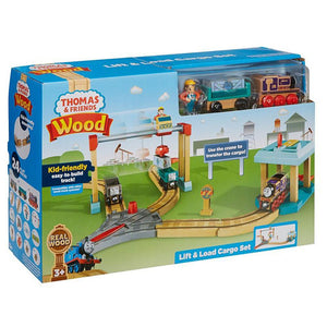 Thomas & Friends Wood Lift and Load Cargo Set