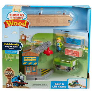 Thomas & Friends Wood Spin & Lift Crane